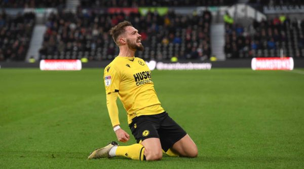 Gary Rowett: Lions striker Tom Bradshaw's goal is reward for his hard work