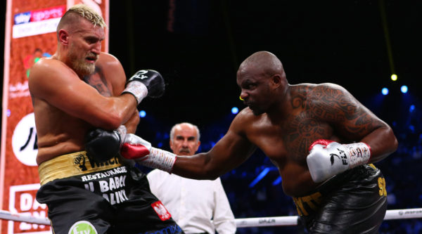 Dillian Whyte lashes out at UKAD after making winning heavyweight return