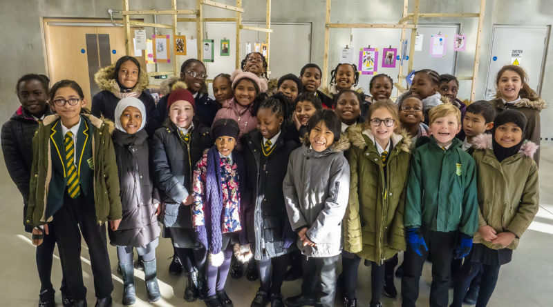 Pupils give creative boost to Peckham's distinctive shops and their rich history