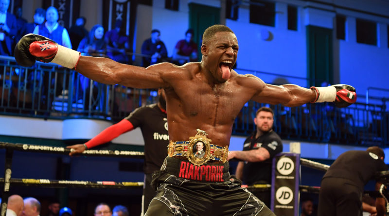 Walworth's RIchard Riakporhe wins British cruiserweight title