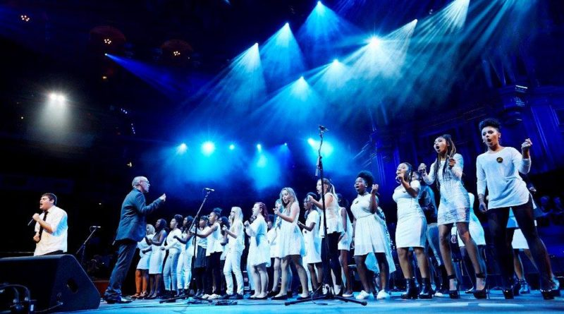 School choir which filled Albert Hall with sound to perform at the Lewisham school where it all began