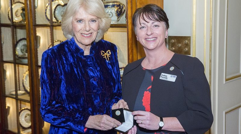 Royal Trinity Hospice reception hosted by Duchess of Cornwall