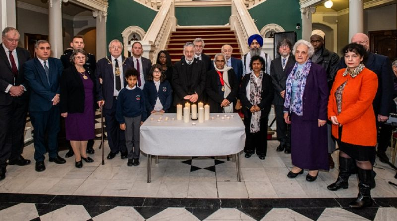 Greenwich stands together on Holocaust Memorial Day