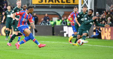 Crystal Palace boss on his side meriting more goals against Newcastle plus praise for Jordan Ayew and Patrick van Aanholt