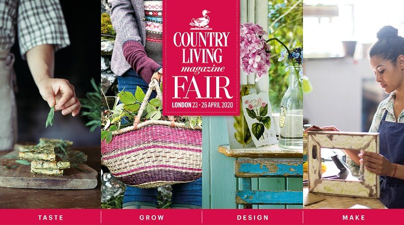 2-4-1 offer on tickets to The Country Living Spring Fair 2020, Alexandra Palace, London