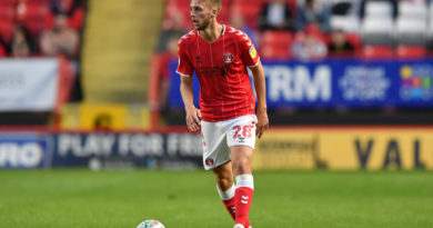 Midfielder's season looks over – as Charlton boss also provides injury updates on duo
