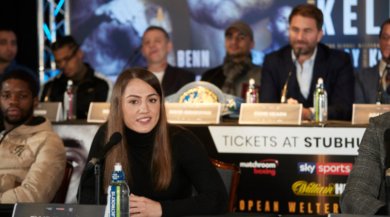 Catford boxer Ellie Scotney signs long-term promotional deal with Matchroom