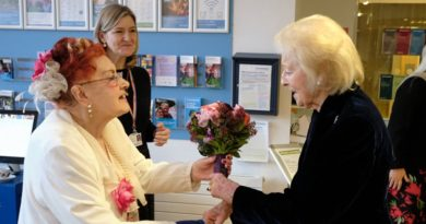 St Christopher's Hospice receives a royal visitor