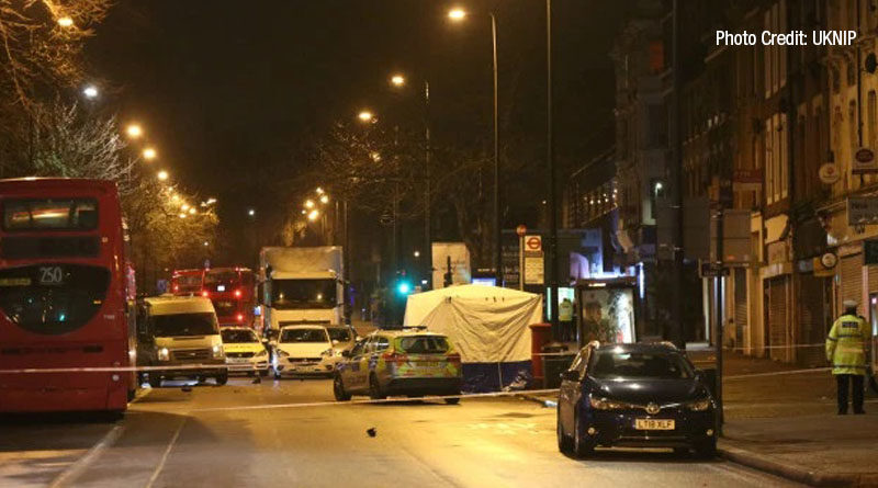 Woman killed by car being chased by police in hit and run in Brixton